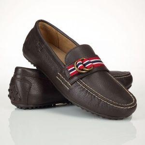 Men's Brown Willem Ralph Lauren Loafers 7